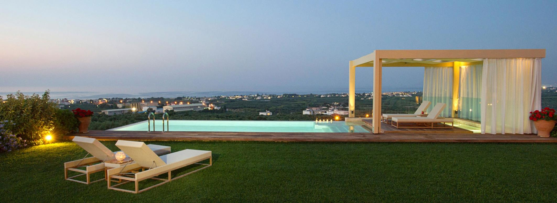 Villas J&G at Chania Greece
