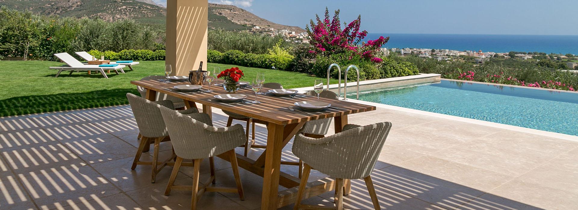 J G Luxury Villas Chania Crete